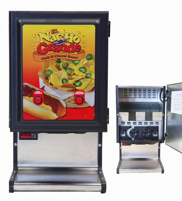 chili and cheese machine