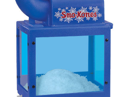 snoking deluxe snokonette finest heavyduty shave ice machine